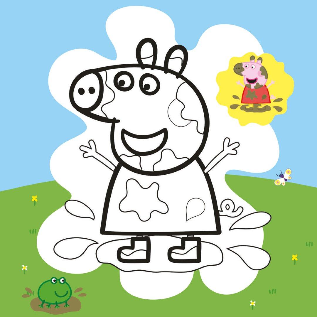 Peppa Pig Ausmalbilder zum Ausdrucken  TOGGO Eltern